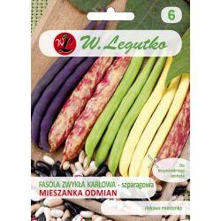 Fasola szparagowa - mieszanka odmian