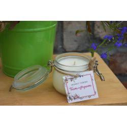 Świeca sojowa - trawa cytrynowa